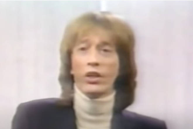 Robin Gibb (pictured) sang lead vocals on the 1967 classic.