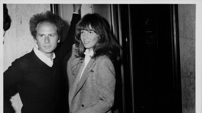 Art Garfunkel And partner Laurie Bird in 1978