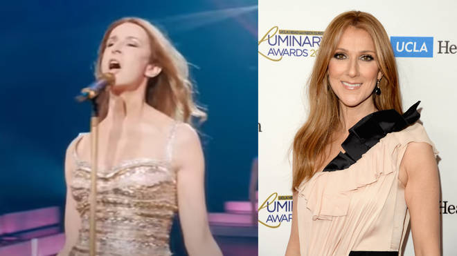 'Aline' features a lookalike lead actress (left) but no mention of Celine Dion's name.