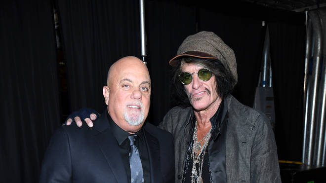 Joe Perry performed with Billy Joel at the weekend