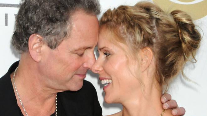 Lindsey Buckingham with wife Kristen in 2008