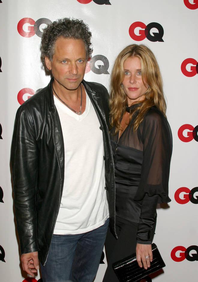 Lindsey Buckingham with wife Kristen