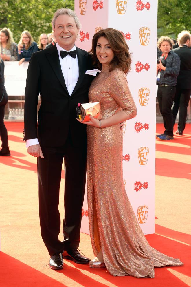 Jane McDonald and Eddie Rothe in 2018