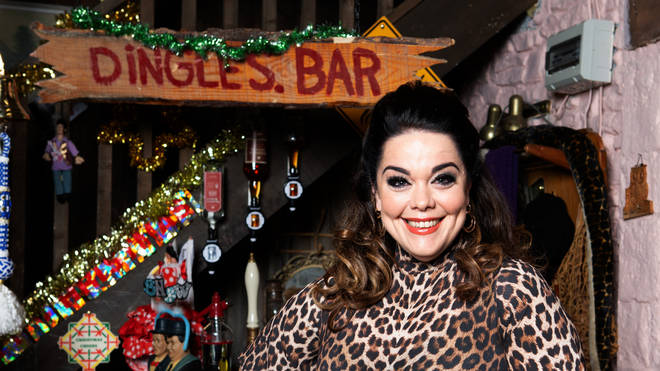 Lisa Riley will make a comeback for a festive Emmerdale storyline