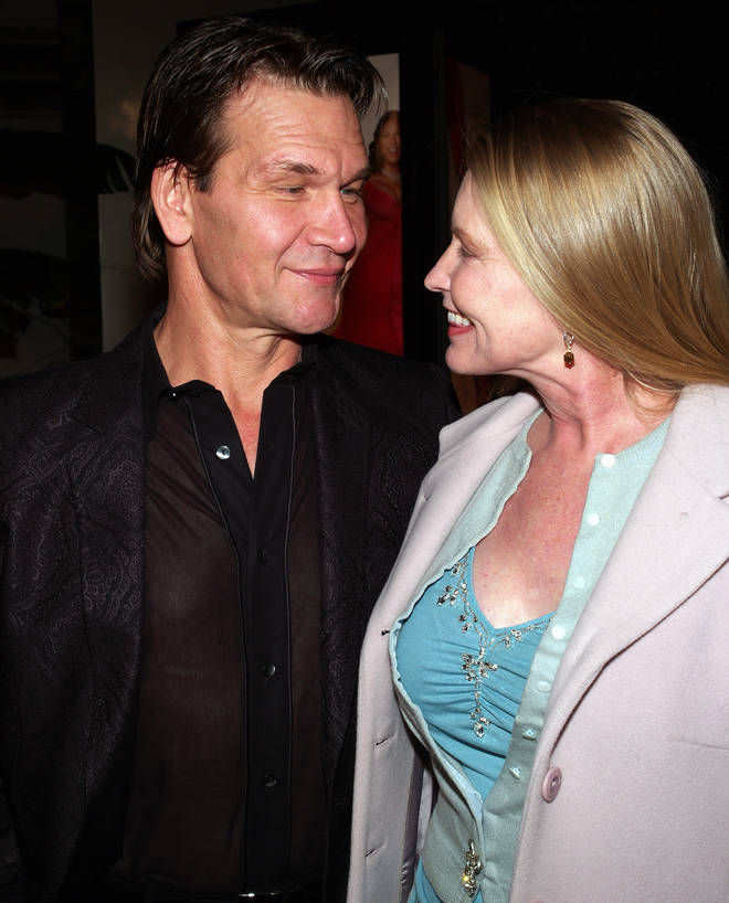 Lisa and Patrick were together until his death in 2009 after a 20-month battle with pancreatic cancer. (The pair pictured together in 2006)
