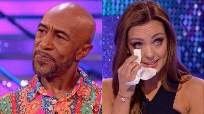 Danny John-Jules didn't appear on his scheduled interview with Amy Dowden