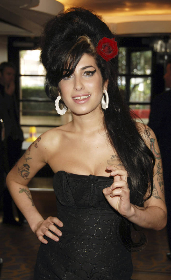 Amy Winehouse, pictured in 2007, won over 23 awards for her music in her short career before she died aged just 27 on July 23, 2011.