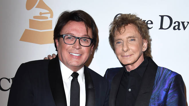 Barry Manilow and husband Garry Kief in 2016