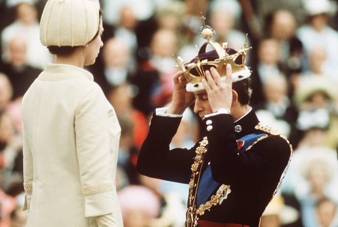 Prince Charles crowning