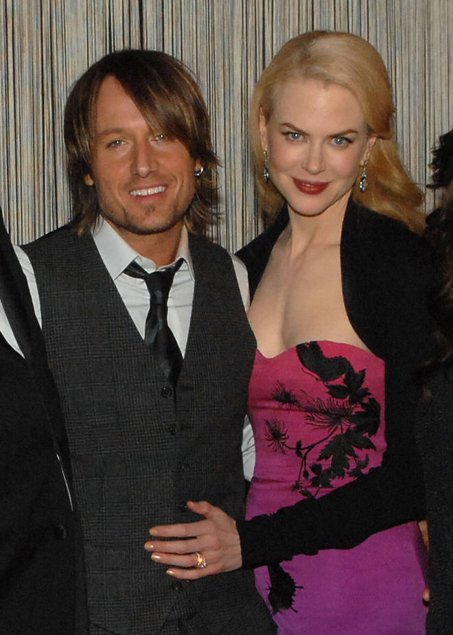 Keith and Nicole in 2007