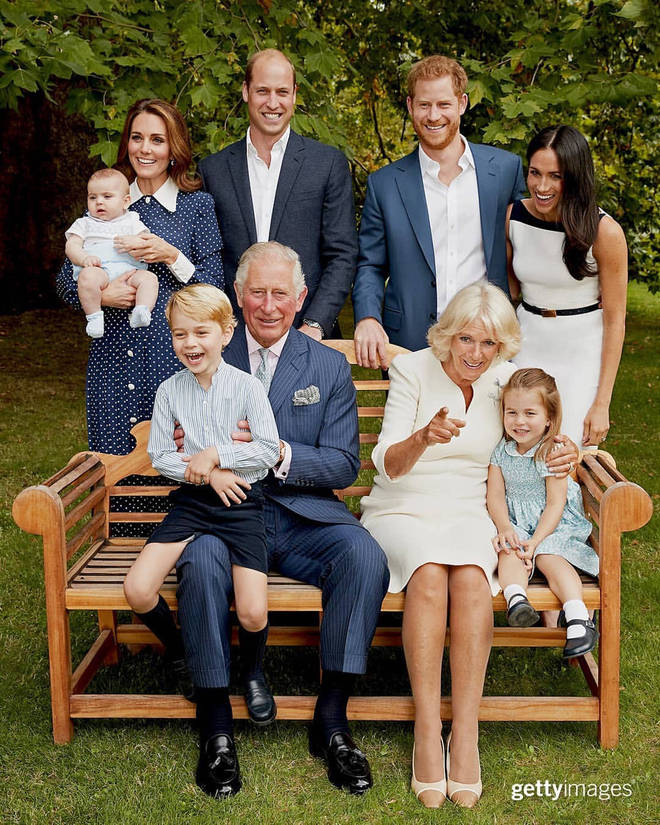 Prince Charles and family