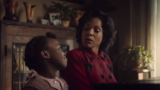 Audra McDonald plays Aretha Franklin's mother in Respect
