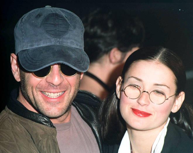 Bruce And Demi in 1990