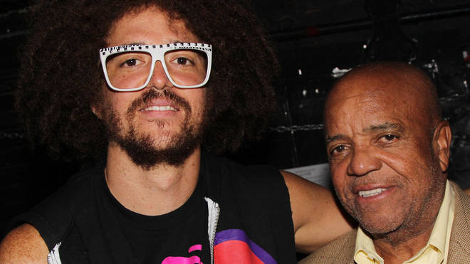 Berry Gordy with son Redfoo