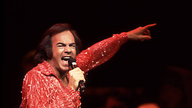 Neil Diamond On Stage in 1984