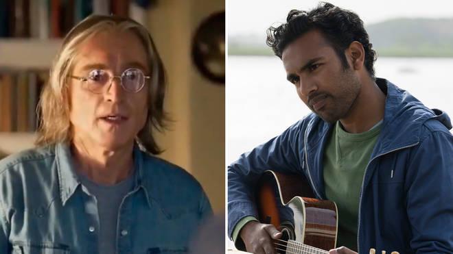 Robert Carlyle plays John Lennon (left) in Yesterday