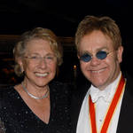 Elton John and his mum Sheila