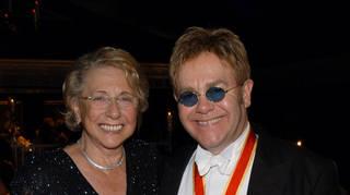 Elton John and his mum Sheila