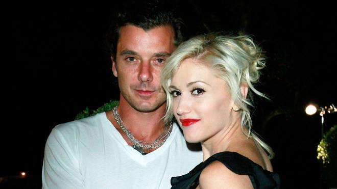 Gwen Stefani with ex-husband Gavin Rossdale in 2008