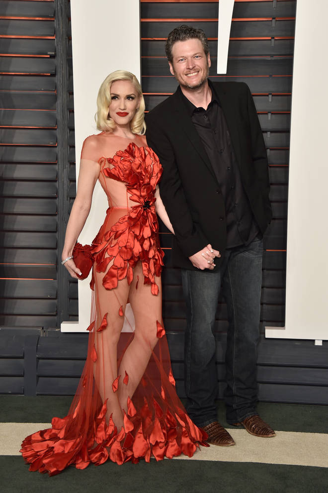 Blake Shelton and Gwen Stefani's first red carpet event together in 2016