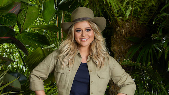 Emily Atack is on I'm A Celebrity