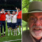 Watch England players sing 'Sweet Caroline' with fans as Neil Diamond sends them video message