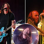 The Foo Fighters have transformed into the Dee Gees