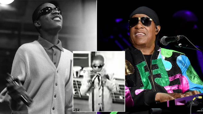 This video of Stevie Wonder performing Fingertips is amazing