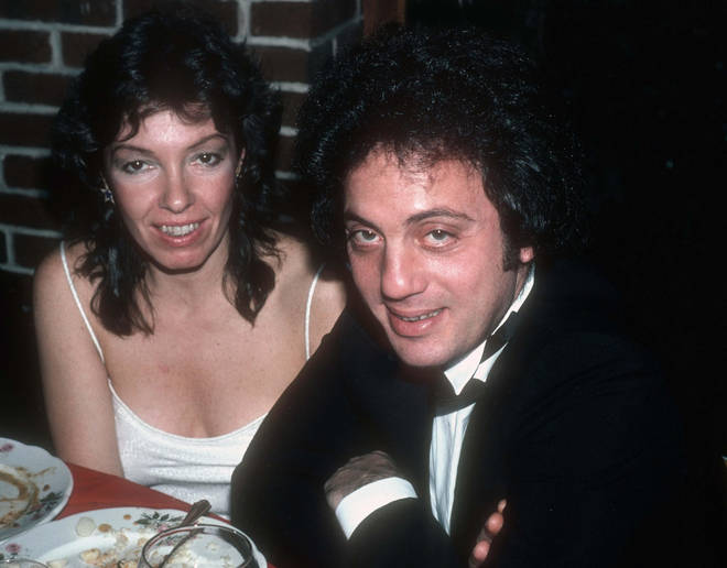 Billy Joel and his first wife Elizabeth Weber