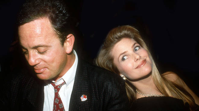 Billy Joel and his second wife Christie Brinkley