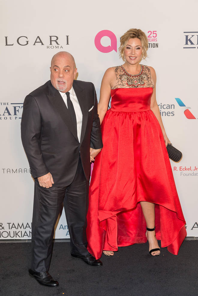 Billy Joel and his wife Alexis Roderick