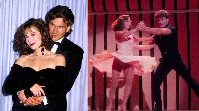 Patrick Swayze and Jennifer Grey didn't always get on