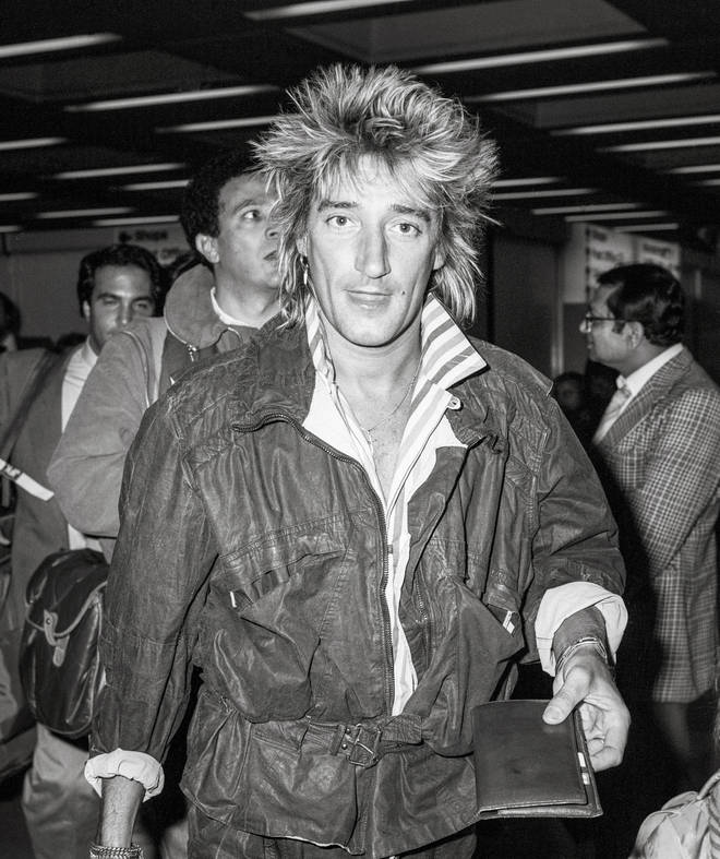 Rod Stewart recorded some vocals for a Queen track