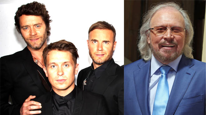 Take That have reworked 'How Deep Is Your Love' with Sir Barry Gibb