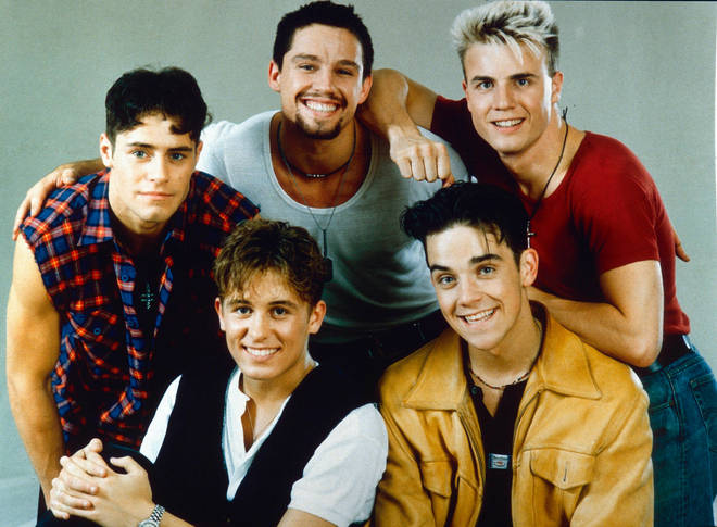 Take That were formed in 1990