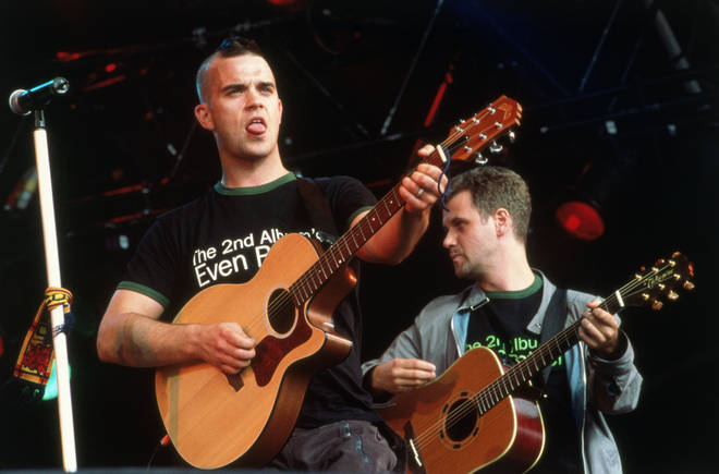 Robbie Williams left Take That in 1995