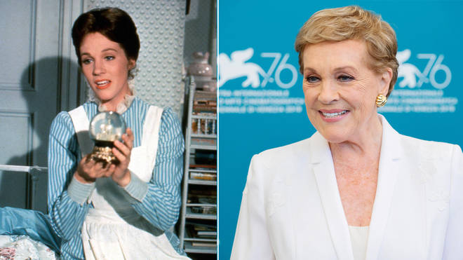 Julie Andrews played Mary Poppins