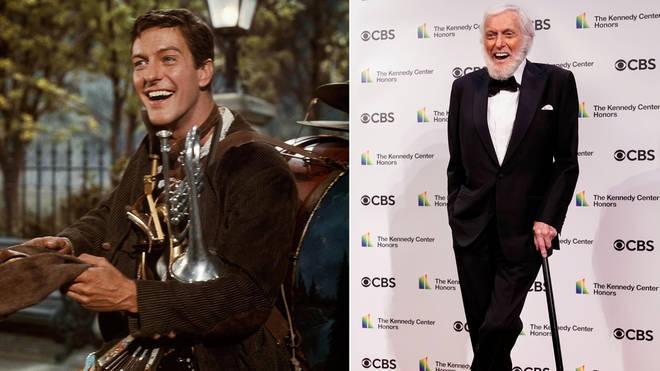 Dick Van Dyke played Bert in Mary Poppins