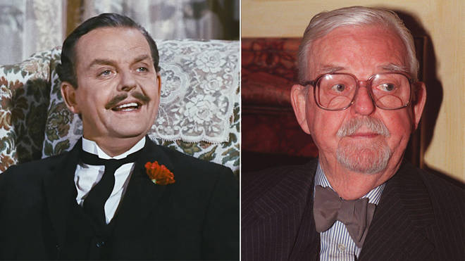 David Tomlinson played Mr Banks in Mary Poppins