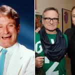 Robin Williams with his son Zak