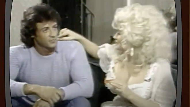 Dolly Parton and Sylvester Stallone formed an unlikely friendship while filming the '80s comedy 'Rhinestone'.