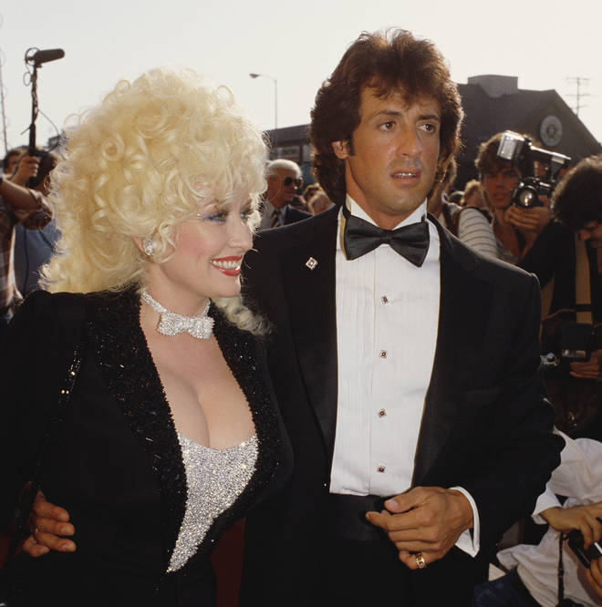 The 'Jolene' singer also revealed Stallone had helped her while she was in a dark place around the time of the movie.