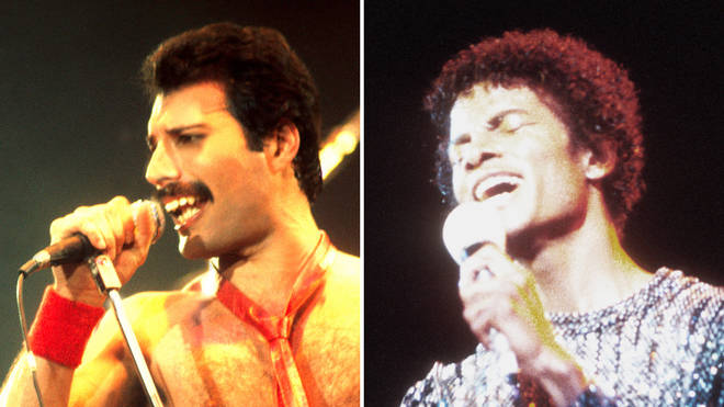 Michael Jackson and Freddie Mercury recorded music together