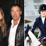 Bruce Springsteen's daughter Jessica is competing at the Olympics