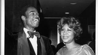 Aretha Franklin with husband Glynn Turman in 1980