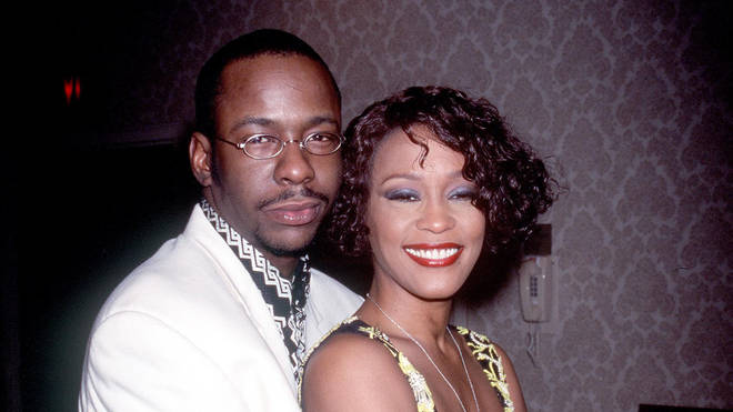 Whitney and Bobby in 1999