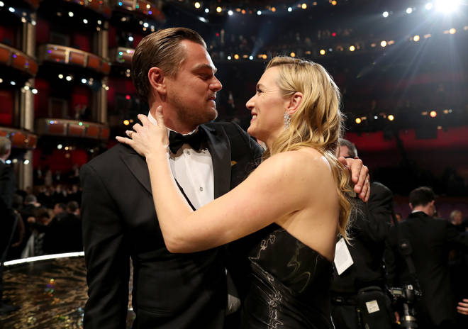 Leonardo finally wins an Oscar, and Kate watches on proudly from the audience