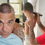 Robbie Williams son Charlie gets identical mohawk haircut from Robbie