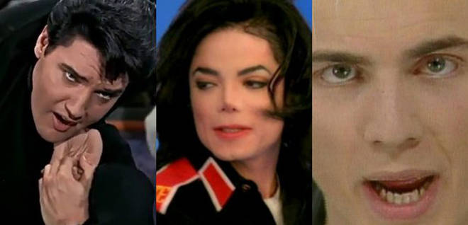 Elvis Presley, Michael Jackson and Gary Barlow
