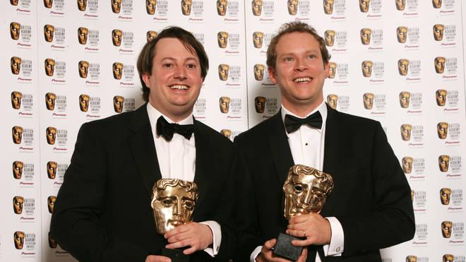 Robert Webb with comedy partner David Mitchell